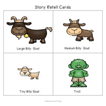 Reader's Theater: The Three Billy Goats Gruff (with extension activities!)