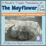Reader's Theater: The Pilgrims and the Mayflower (differentiated script)