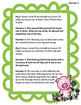Reader's Theater Three Little Pigs