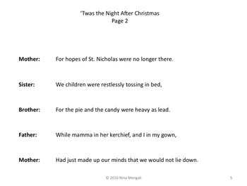 Reader's Theater 'Twas the Night AFTER Christmas - GREAT FUN!