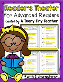 Reader's Theater for Advanced Readers with 3 Characters! {Fall}