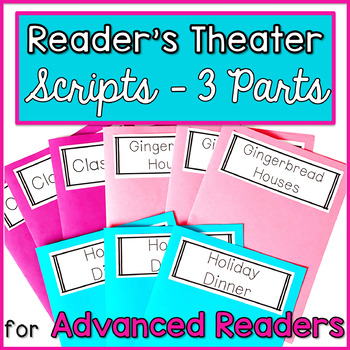 Reader's Theater for Advanced Readers with 3 Characters! {Holiday}