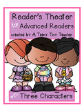 Reader's Theater for Advanced Readers with 3 Characters! {Spring}