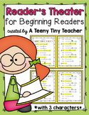 Reader's Theater for Beginning Readers with 3 Characters! {Back to School}