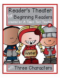 Reader's Theater for Beginning Readers with 3 Characters!