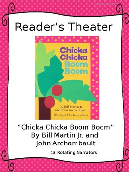 Reader's Theater for CHICKA CHICKA BOOM BOOM ABC