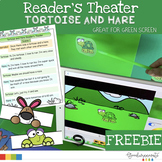 Reader's Theater for Green Screen | Tortoise and Hare FREEBIE
