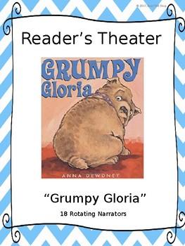 Reader's Theater for Grumpy Gloria by Anna Dewdney