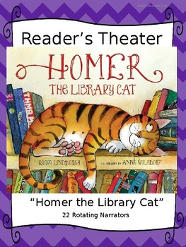 "Reader's Theater for ""Homer, the Library Cat"" by Reeve Lindbergh"