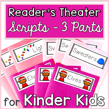 Reader's Theater for Kinder Kids with 3 Characters! {Holiday}