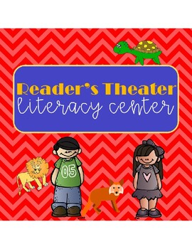 Reader's Theater for Literacy Centers--5 Short Plays, 4 Characters