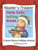 Reader's Theater for Llama Llama Holiday Drama by Anna Dewdney
