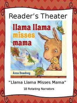 Reader's Theater for Llama Llama Misses Mama by Anna Dewdney