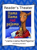 Reader's Theater for Llama Llama Red Pajama by Anna Dewdney
