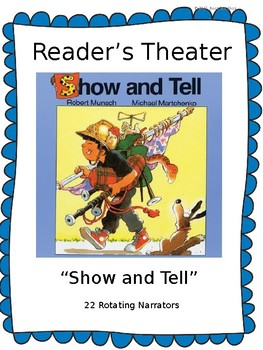 "Reader's Theater for ""Show and Tell"" by Robert Munsch"