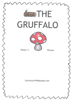 Reader's Theater for the book 'The Gruffalo' by Julia Donaldson