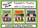 Reader's Theater with 3 Characters {Any Time Bundle}