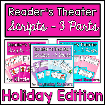 Reader's Theater with 3 Characters {Holiday Bundle}