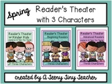 Reader's Theater with 3 Characters {Spring Bundle}