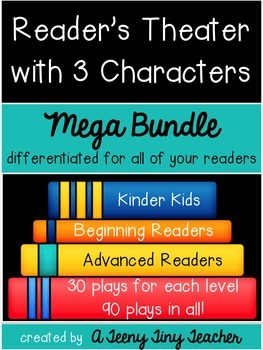 Reader's Theater with Three Characters {Mega Bundle}
