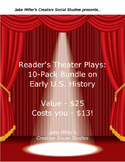 Reader's Theaters Plays - 10-Pack Bundle, US History 1600-1860