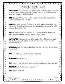 Reader's Theatre: Bible Stories (Set 2)