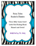 Reader's Theatre -  Fairy Tales