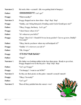 Reader's Theatre: Let's Go Froggy!