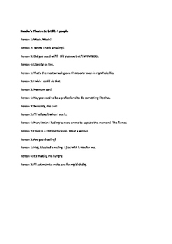 Reader's Theatre Mystery Inferring Scripts 8 pack