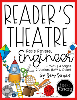 Reader's Theatre: Rosie Revere, Engineer