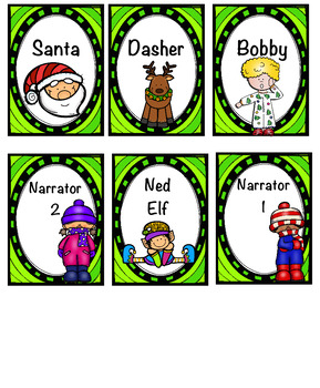 Reader's Theatre:  Santa's in Trouble:  Grades 2-3:  6 Part Script
