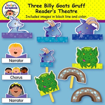 Reader's Theatre: Three Billy Goats Gruff
