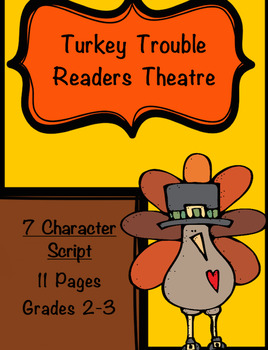 Reader's Theatre: Turkey Trouble** 7 Part Script**11 Pages