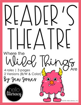 Reader's Theatre: Where The Wild Things Are