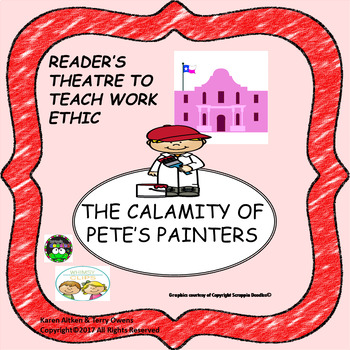 Reader's Theatre to Teach Work Ethic - The Calamity of Pete's Painters