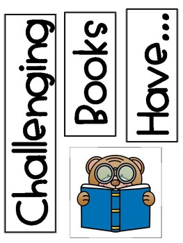 Reader's Workshop - Bigger Reading Muscles Anchor Charts and Resources