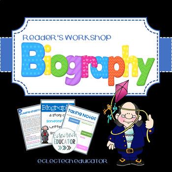 Biographies In Reader's Workshop