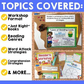 Reader's Workshop Bulletin Board Set