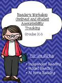 Reader's Workshop -- Guide, Contract, and Reading Log (Gra