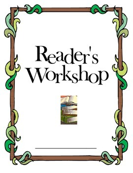 Reader's Workshop Cover Sheet for Binders, Booklets, or Spirals