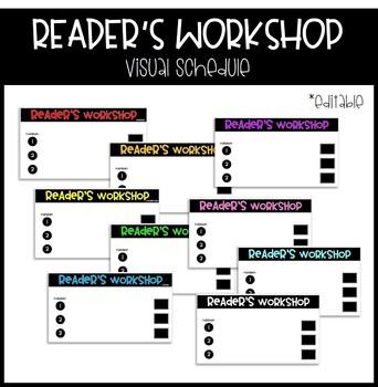 Reader's Workshop Digital Schedule - Editable