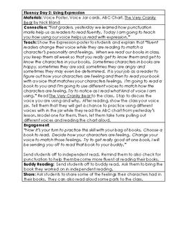 Reader's Workshop Fluency Unit