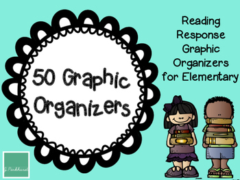 Reading Graphic Organizers for Early Elementary FREEBIE