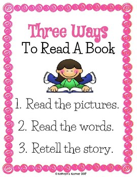 Reader's Workshop Mini-Anchor Charts