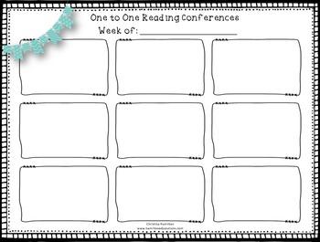 Reader's Workshop Planning Tools Bundle