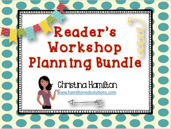 Reader's Workshop Planning Tools Bundle