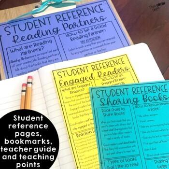 Reader's Workshop Turn and Talk