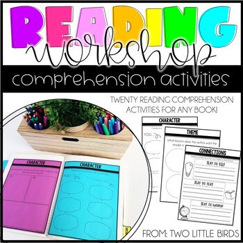Reader's Workshop: Reading Comprehension Pages for Any Book