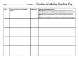 Reader's Workshop Reading Log