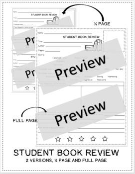 Reader's Workshop Student Book Review